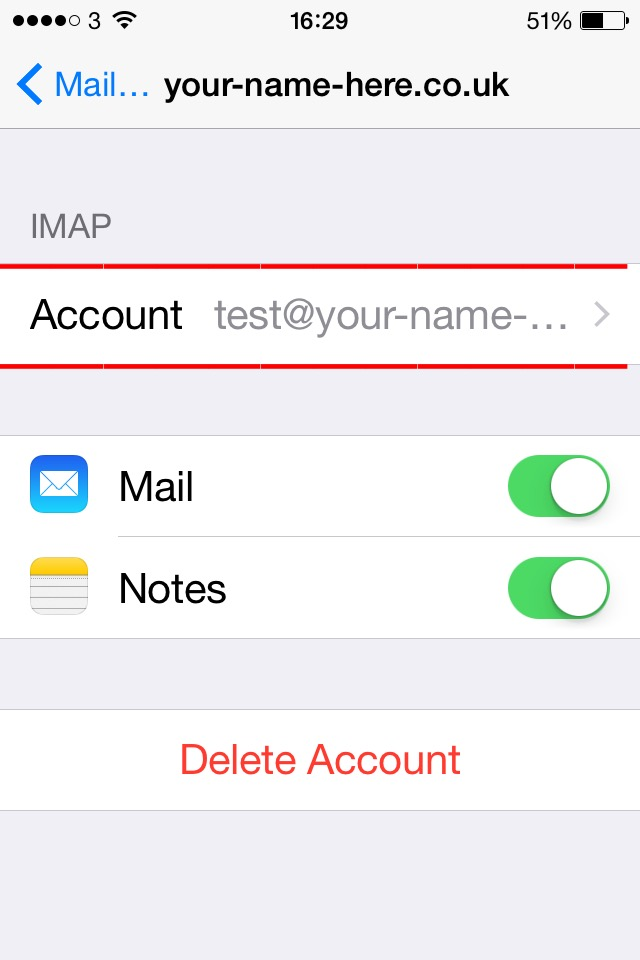 iphone email problems problems when setting up email account on iphone 171 ynh ltd 11812